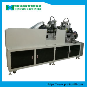 Two Color Automatic Flatbed Screen Printing Machine pictures & photos