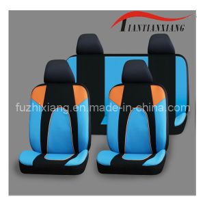 Universal Blue Stripe Polyester Auto Seat Cover (FZX521)