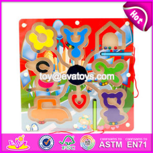 New Products Develop Intelligence Children Toy Wooden Magnetic Maze W11h018 pictures & photos