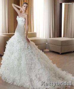 Wedding Dress&Wedding Gown&Bridal Dress (KB1047)