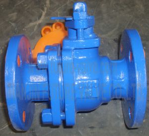 Pn16 Dn40 Flanged PFA or PTFE Lined Ball Valve (Q41F46/F)
