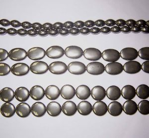 Semi Precious Stone Crystal Pyrite Bead String (ESB01781) pictures & photos