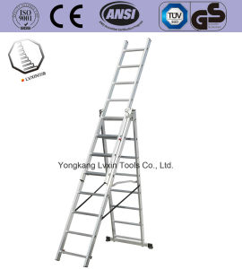 Aluminium Straight Ladder with En131 Certificate pictures & photos
