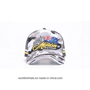 Customized American Flag 3D Embroidery Mesh Baseball Cap Military Cap dd6118157e4