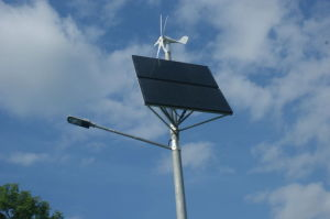 Professional Solar Project of 60W 8m Street Light with Lithium Battery pictures & photos