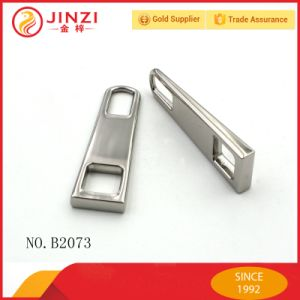 High Quality Durable Nickel Zipper Puller for Trolley Bags pictures & photos