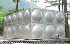 Bolt Connected Stainless Steel Water Tank for Drinking Water Exported