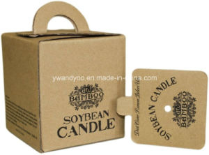 Delicious Bamboo Scented Organic Soybean Candle