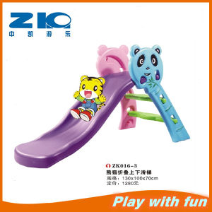 Hot Sale Plastic Folding Slide for Kids Zk016-3 pictures & photos