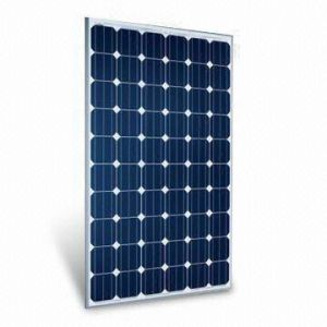 Mono-Crystalline Solar Panel Module for Big Solar Power Plant Use pictures & photos
