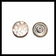17mm New Style and Fancy Metal Sewing Button for Clothing pictures & photos