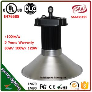 UL LED High Bay Light 120W with Meanwell Driver