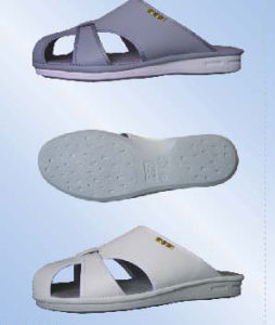 ESD Cold Glued Slippers, Anti-Static PU Slippers pictures & photos