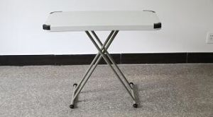 Adjustable Plastic Folding Study Table