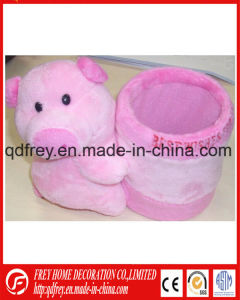 Cute Pencile Holder of Plush Elephant pictures & photos