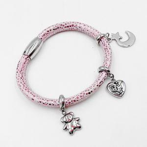 Stingray Skin Leather Bracelet