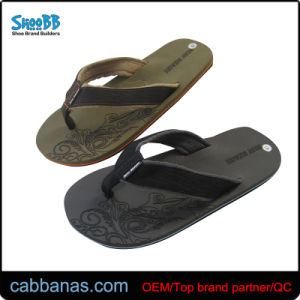 51d9812d4 China Men′s Beach Terry Cloth Flip Flops with Soft Comfortable ...