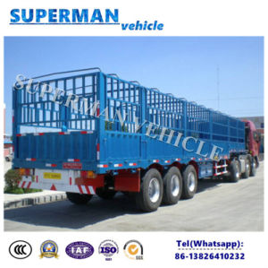 Heavy Duty Storehouse Sidewall Cargo Semi Trailer for Sales pictures & photos