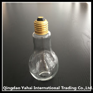 200ml Bulb Shaped Glass Bottle pictures & photos