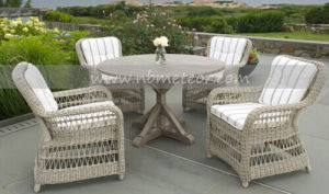 Wicker Patio Outdoor Garden Dining Set Outdoor Use (MTC-162) pictures & photos
