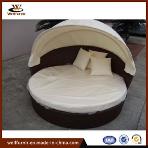 China Rattan Outdoor Round Bed Manufacturers Suppliers Made In