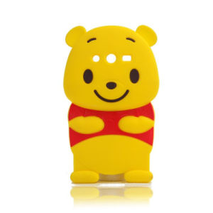 Cute Large Belly Winnie Soft Silicone Phone Case for Huawei Y6II 65II P8 P8lite P9 (XSD-040)