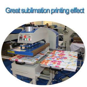 Automatic Pneumatic Dual Station Heat Press Machine pictures & photos