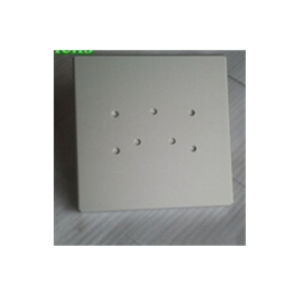 Aluminum Stamping with Blind Holes Powder Coating pictures & photos