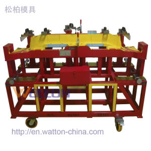 China Car Checking Fixture for Assembly Middle Floor