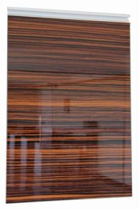High Glossy Woodgrain Acrylic Board for Cabinet Door