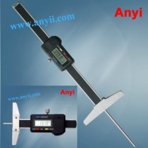 Narrow Hole Depth Gage with Thin Rod Depth Gauge Tire Thread Depth Pit Gauge pictures & photos