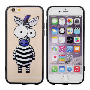 Cute Zebra TPU Phone Case for iPhone 5/6/6plus