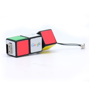 Promotion Gift Classic Plastic Portable Magic Cube Shape USB Memory Disk pictures & photos