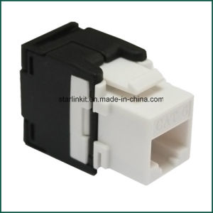 CAT6 RJ45 Keystone Jack Punch-Down Stand Ethernet Module Network Coupler pictures & photos
