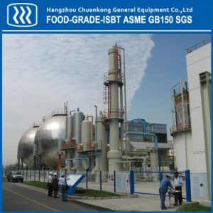 Food Grade CO2 Recovery Plant with Alcohol Ethanol Source