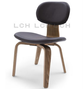 Upholstered Eames Molded Plywood Dining Chair (DCW)