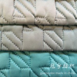 Compound Fabric with Sponge Inside Quilt Treatment pictures & photos