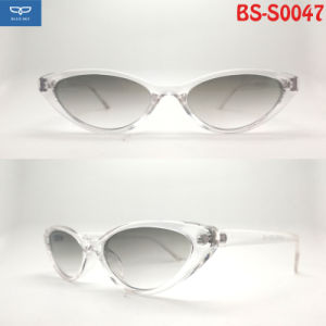 a44106ce071e8 New Design Eye Cat PC Material Sunglasses Crystal Frame for Women Cheap  Price Good Quality