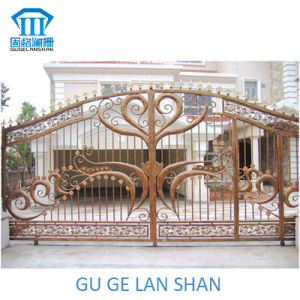High Quality Crafted Wrought Iron Gate 043 pictures & photos