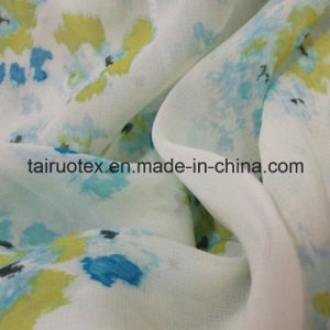 Printed Polyester Chiffon for Ladies′ Clothes Fabric pictures & photos