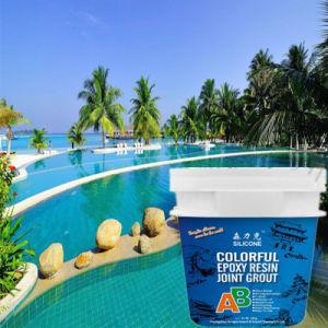 Colorful Epoxy Resin Grout for Swimming Pool Ceramic Tile Seam Repair