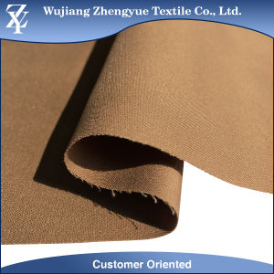 Woven Plain Dyed Cotton Nylon Spandex Stretch Garment Fabric pictures & photos