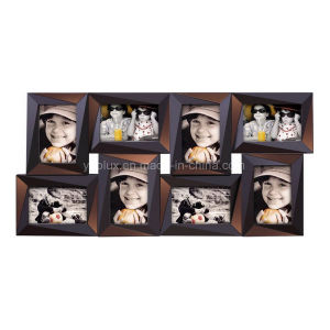 Plastic Multi Openning Home Decoration Picture Photo Frame