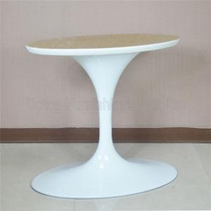 China SPATL Elegant White Aluminum Oval Tulip Table Base - Tulip pedestal table base