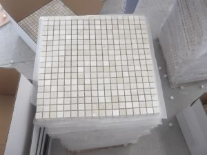 Beige Marble Cream Marfil Mosaic Tile for Decoration pictures & photos