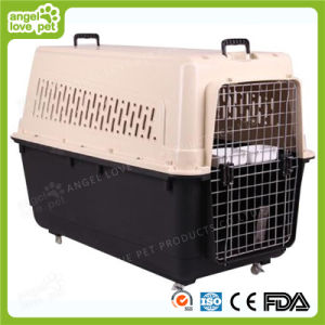 Big Size Plastic Folding Dog and Cat Carrier (HN-pH447) pictures & photos
