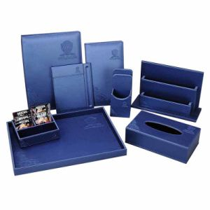 Fashion Luxury Customized PU Leather Products for Hotel pictures & photos
