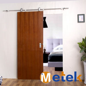China High Standard Stainless Steel Sliding Wood Door System Gate ...