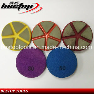 High Quaity Ceramic Bond Diamond Polishing Pad for Removing Scratches pictures & photos