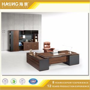 Modern Office Furniture with MDF Panel Board Design